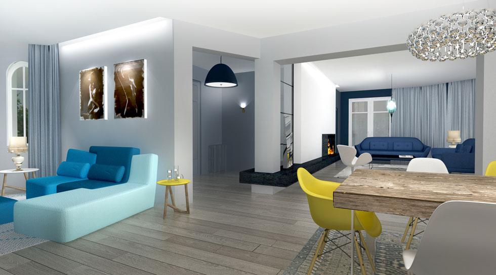 Rénovation intérieure Habitat de 140m2, à Boulogne Billancourt